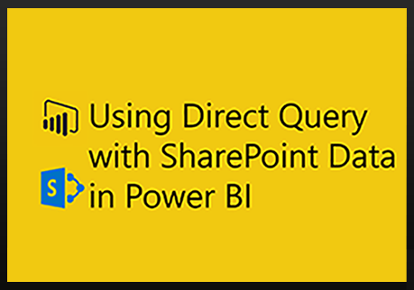 Why use SQList to generate Power BI reports from SharePoint lists, rather than using the Power BI native connector to SharePoint?
