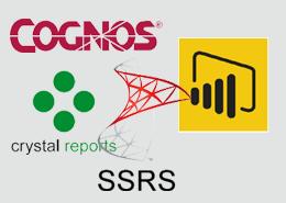 Comparison of BI Tools: Power BI vs Cognos vs Crystal Reports vs SSRS
