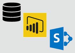 Power BI using SharePoint List VS SQL Tables