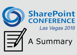 What went down at the SharePoint Conference Las Vegas 2019