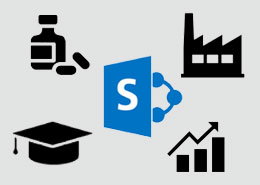Which industry hold the lion's share of SharePoint usage and why?