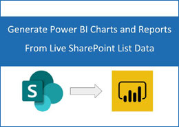 Generate Power BI Charts and Reports from live SharePoint list data