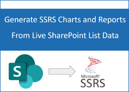 Generate SSRS Charts and Reports from live SharePoint list data