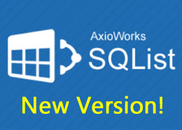 New version of AxioWorks SQList released (6.2.1.0)