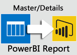 Power BI Master/Detail Report from live SharePoint data