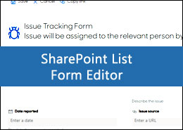 Form Configuration Editor: Lightweight and Built-in SharePoint List Form editor