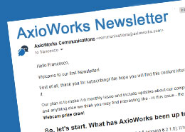 AxioWorks Newsletter July 2021: Building up a successful release in June